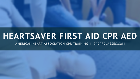 First Aid CPR AED Class