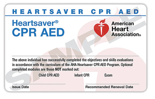 CPR AED Classroom