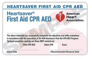 First Aid CPR AED Classroom