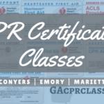 CPR Certification Classes Near Atlanta
