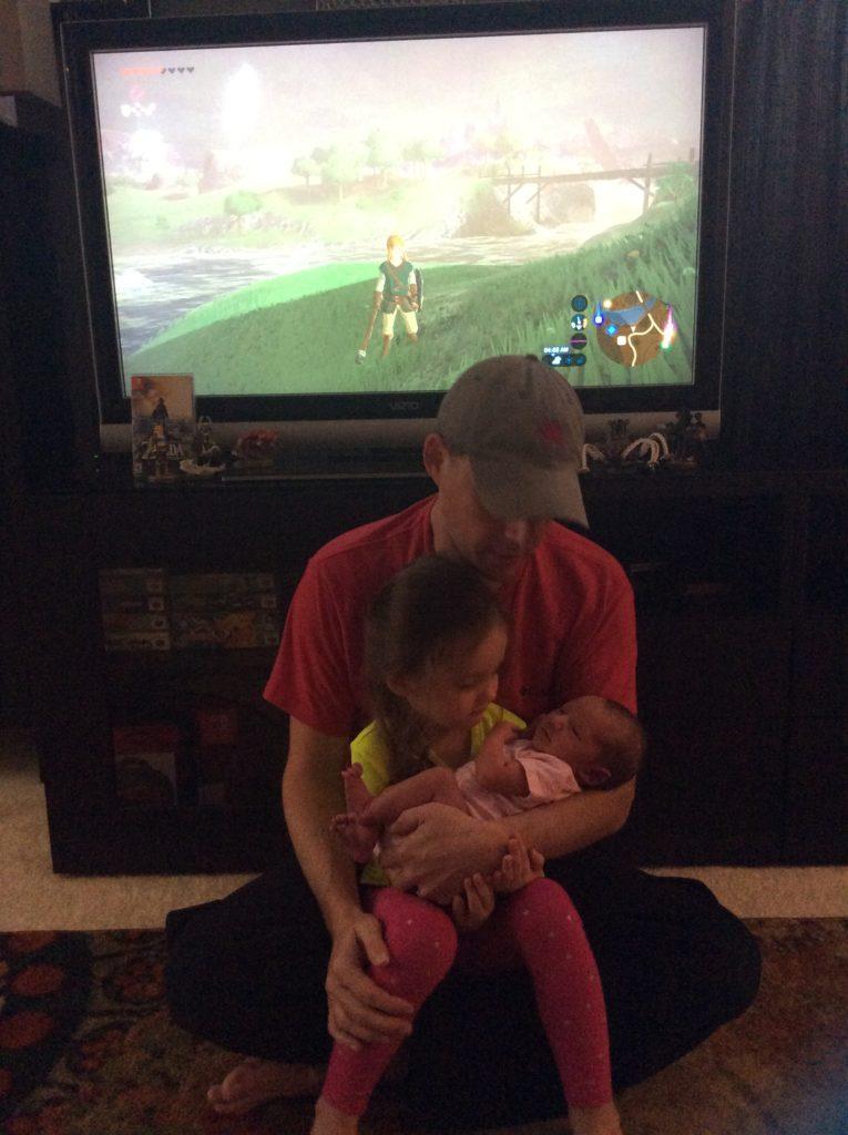 Tatum and Zoe Play Zelda